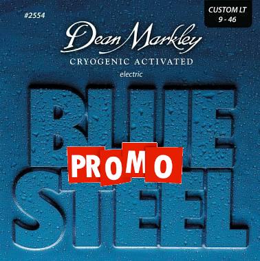 DEAN MARKLEY BLUE STEEL 2554 CORDE PER CHITARRA ELETTRICA 09-46 Cryogenic Activated