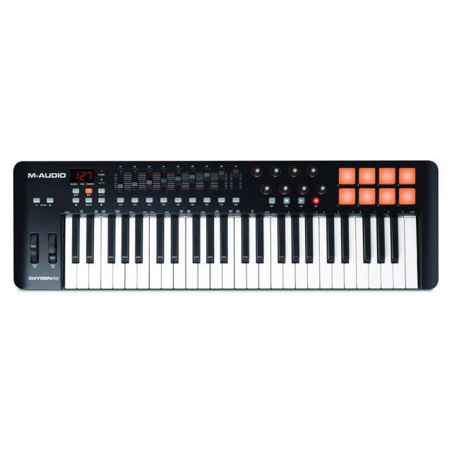 M-AUDIO OXYGEN 49 (4ND GEN) TASTIERA CONTROLLER MIDI USB 49 TASTI